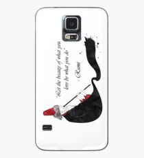 Rumi Quote Case/Skin for Samsung Galaxy