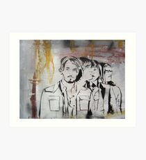 Kings of Leon Band Portrait Art Print