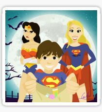 Regina, Emma and Henri Sticker