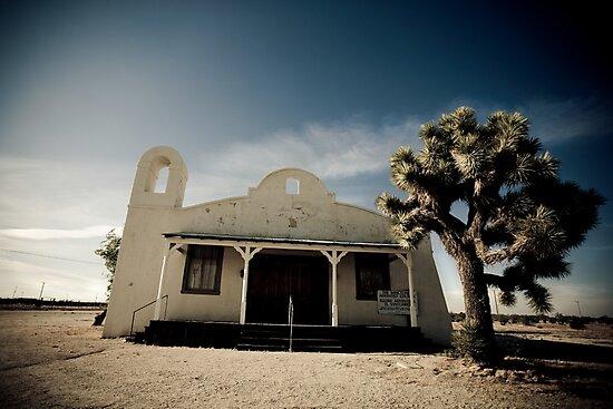 Mojave Desert Church by Graham Gilmore