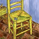my iris chair by redqueenself