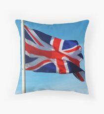 British Flag. Throw Pillow