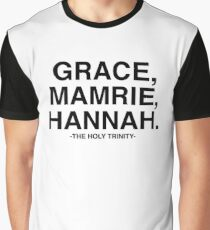 Grace, Mamrie, Hannah - The Holy Trinity Graphic T-Shirt