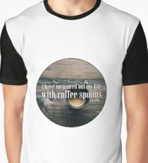 Coffee Spoons T. S. Eliot Graphic T-Shirt