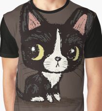 Cute black kitten Graphic T-Shirt
