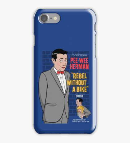 Rebel Without A Bike iPhone Case/Skin