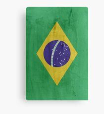 Flag Brazil Canvas Print