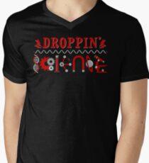 Droppin' Science Men's V-Neck T-Shirt