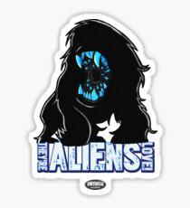 Attack THe Block Alien Sticker