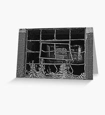 Bent Window - Keuka  Greeting Card