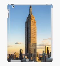 Empire State Building At Dusk iPad Case/Skin