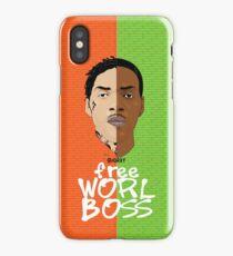 Worl Boss iPhone Case/Skin