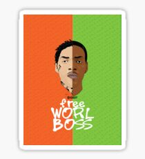 Worl Boss Sticker