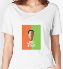 Worl Boss Women's Relaxed Fit T-Shirt
