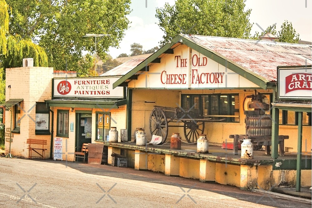 Old Cheese Factory, Balingup, Western Australia. by Elaine Teague