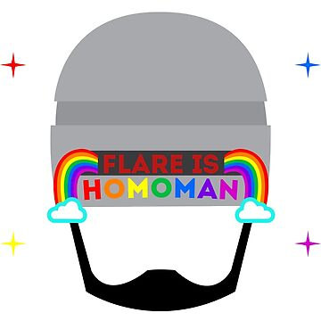 Flare is homoman by agimarshmallow