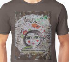 Heart Face Unisex T-Shirt