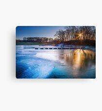Frozen Midwest Canvas Print