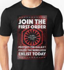 First Order Recruitment Poster T-Shirt