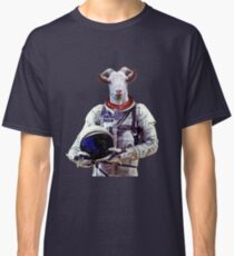 Goat Astronaut In Space Classic T-Shirt