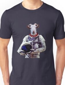 Goat Astronaut In Space Unisex T-Shirt