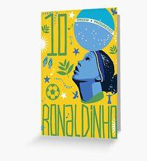 Ronaldinho Greeting Card