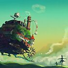 Howl's Moving Castle by laurenbrite