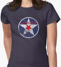 Wipeout - Auricom - 50s Style Womens Fitted T-Shirt