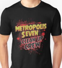 Metropolis Seven Clean Up Crew T-Shirt