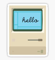 Hello Macintosh 128K Sticker