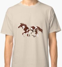 mare and its foal Classic T-Shirt