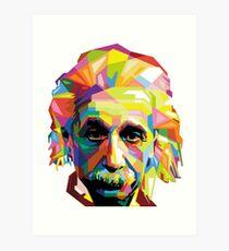Lámina artística Einstein Technicolor