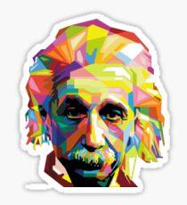 Einstein Technicolor  Sticker