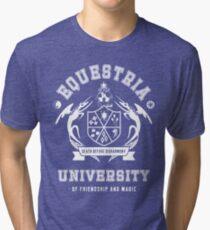 Equestria University Tri-blend T-Shirt
