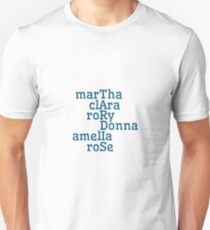 Companions & TARDIS T-Shirt