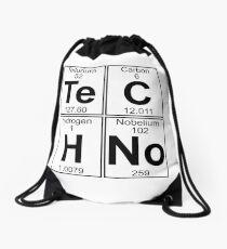Techno Bag? Techno everything! Drawstring Bag