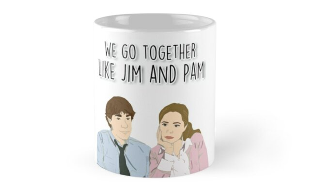 We go together like Jim and Pam by fashprints