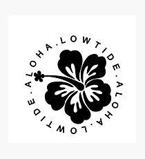 LOWTIDE   ALOHA   2016 Photographic Print