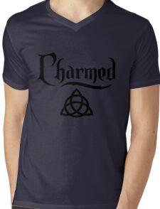 CHARMED-logo Mens V-Neck T-Shirt