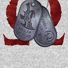 Spartan Veteran Dog Tag by gabriel-arruda