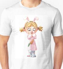 Bunnie girl Unisex T-Shirt