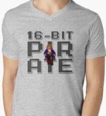 Guybrush - 16-Bit Pirate Men's V-Neck T-Shirt