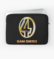 Channel 4 San Diego (Gold) Laptop Sleeve