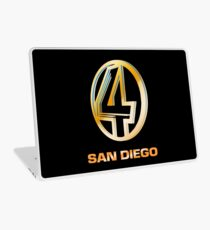 Channel 4 San Diego (Gold) Laptop Skin