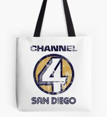Channel 4 San Diego Tote Bag