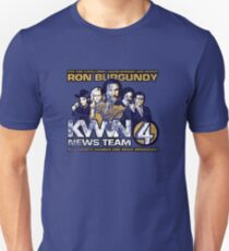 News Team 4 (Distressed) T-Shirt