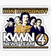 News Team 4 Sticker