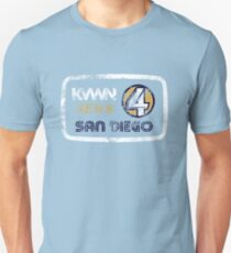 KVWN News 4 San Diego (Distressed) T-Shirt