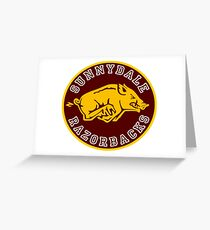Buffy-Sunnydale  Razorbacks Greeting Card