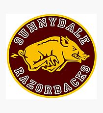 Buffy-Sunnydale  Razorbacks Photographic Print